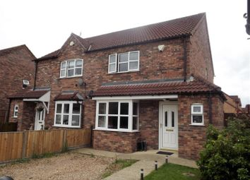 Thumbnail 3 bed semi-detached house for sale in Church Lane, Timberland, Lincoln
