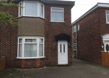 Thumbnail 3 bed flat to rent in Setting Road, Hull