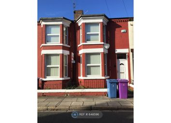 Thumbnail 3 bed terraced house to rent in Cranborne Road, Liverpool