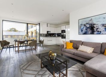 Thumbnail 3 bed flat for sale in Woodside Apartments, Canning Crescent, London