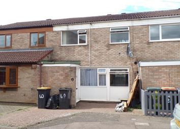 Thumbnail 3 bed terraced house for sale in Bents Close, Clapham, Bedford, Bedfordshire