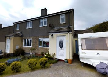 Thumbnail 3 bed semi-detached house for sale in Trethannas Gardens, Praze, Camborne