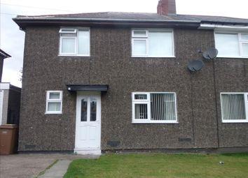 Thumbnail 3 bed semi-detached house to rent in Rosedene Villas, Cramlington