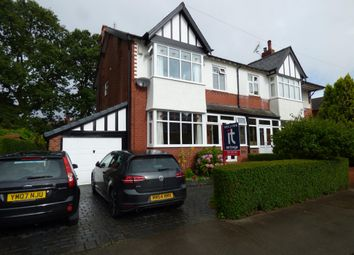 Thumbnail 4 bed semi-detached house for sale in Hazelwood Road, Stockport