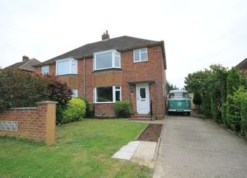 Thumbnail 3 bed semi-detached house for sale in Regnum Drive, Shaw, Newbury