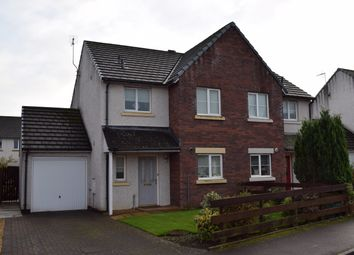 Thumbnail 3 bed semi-detached house for sale in Houliston Avenue, Dumfries