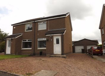 Thumbnail 2 bed semi-detached house for sale in Lauder Gardens, Coatbridge, North Lanarkshire