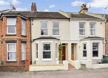 Thumbnail 3 bed terraced house for sale in Richmond Street, Cheriton, Folkestone, Kent