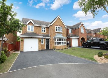 Thumbnail 4 bed detached house for sale in Barmouth Close, Knypersley, Biddulph