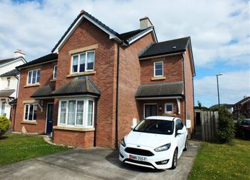 Thumbnail 3 bed semi-detached house for sale in 21 Raad Bridjeen, Reayrt Ny Cronk, Peel