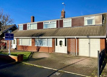 Thumbnail 4 bed bungalow for sale in Greenfields Avenue, Shavington, Crewe