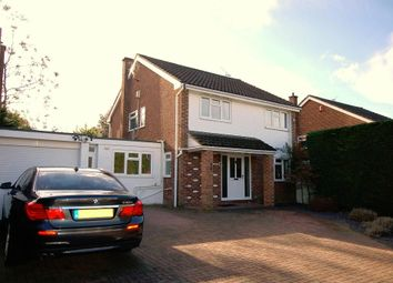 Thumbnail 4 bed detached house for sale in Lambourne Drive, Bagshot