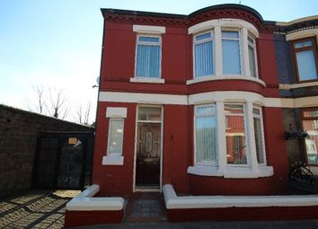 Thumbnail 3 bed terraced house to rent in Wellbrow Road, Walton, Liverpool