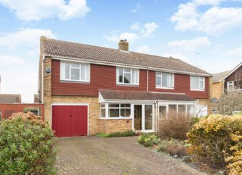 Thumbnail 4 bed semi-detached house for sale in Barnards Way, Wantage