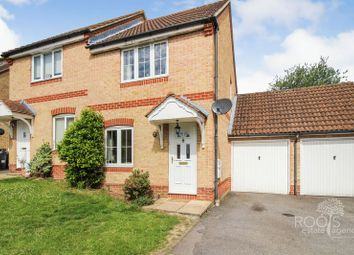 Thumbnail 2 bed semi-detached house for sale in Marston Drive, Newbury