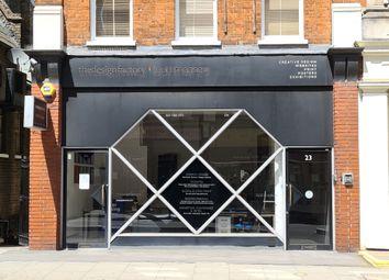 Thumbnail Retail premises to let in 23A Tavistock Place, London
