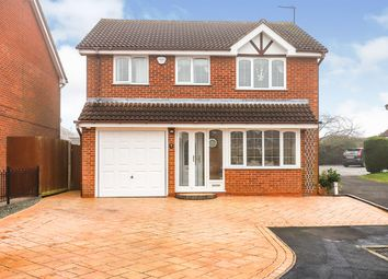 Thumbnail 4 bed detached house for sale in Barley Croft, Perton, Wolverhampton, Staffordshire
