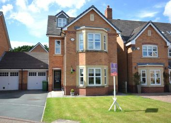 Thumbnail 5 bed detached house for sale in Montgomery Close, Chapelford Village, Warrington