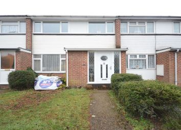 Thumbnail 1 bedroom terraced house to rent in Linden Road, Woodley, Reading