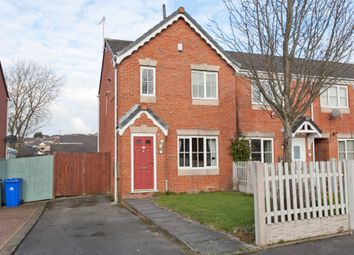 Thumbnail 3 bed town house for sale in Waterdale Grove, Meir Hay, Stoke-On-Trent