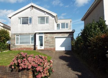 Thumbnail 4 bed detached house for sale in Ocean View Close, Derwen Fawr, Swansea