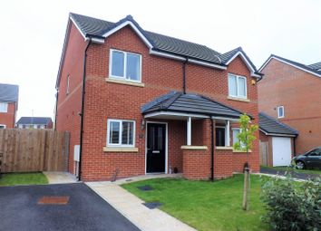 Thumbnail 2 bed semi-detached house for sale in Brandlehow Drive, Middleton, Manchester
