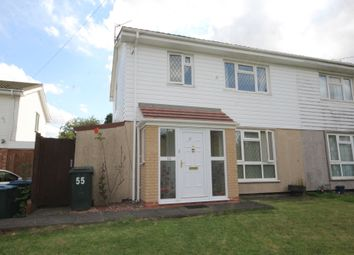 Thumbnail 3 bed semi-detached house for sale in Freeburn Causeway, Coventry