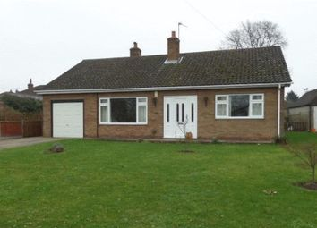 Thumbnail 3 bed detached bungalow for sale in Station Road, Blyton, Gainsborough