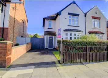 Thumbnail 3 bed semi-detached house for sale in Granville Avenue, Hartlepool