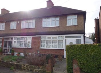 Thumbnail 3 bedroom end terrace house to rent in Marlow Close, Anerley, London