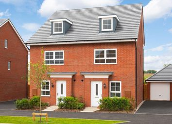 "Thumbnail 4 bedroom semi-detached house for sale in ""Kingsville"" at Harper Close, Warwick"