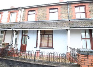 Thumbnail 3 bed terraced house for sale in Trethomas, Caerphilly