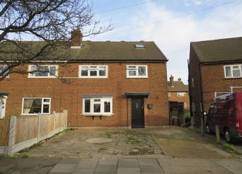 Thumbnail 4 bed semi-detached house for sale in Queenstown Gardens, Rainham
