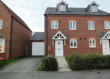Thumbnail 3 bedroom semi-detached house to rent in Hardwick Field Lane, Chase Meadow Square, Warwick