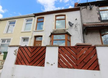 Thumbnail 3 bed terraced house to rent in Bedwellty Road, Aberbargoed, Bargoed