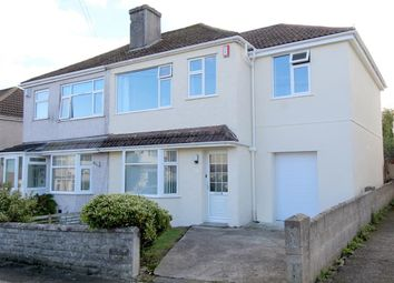 Thumbnail 4 bed semi-detached house for sale in Ashburnham Road, West Park, Plymouth