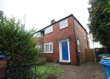 Thumbnail 3 bed semi-detached house to rent in Maywood Avenue, East Didsbury, Didsbury, Manchester