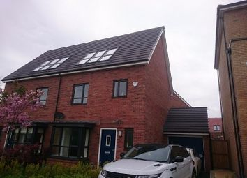 Thumbnail 4 bed semi-detached house to rent in Meadow Road, Salford