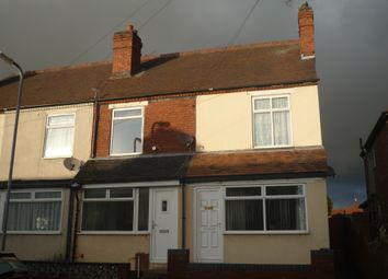 Thumbnail 2 bed terraced house to rent in Cemetery Road, Cannock, Staffs