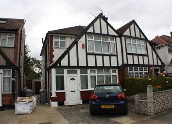 Thumbnail 3 bed semi-detached house to rent in Redhill Drive, Edgware, Middlesex