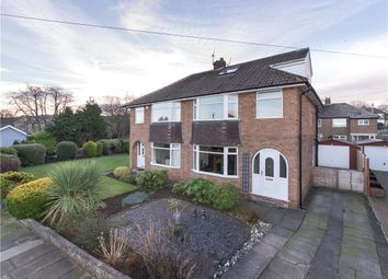 Thumbnail 4 bed semi-detached house for sale in Roundhill Avenue, Cottingley, West Yorkshire