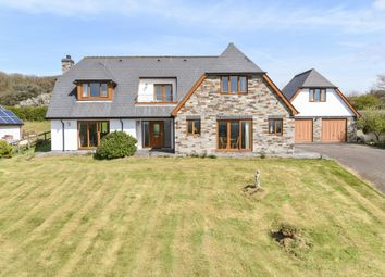 Thumbnail 5 bedroom detached house for sale in Bowood Park, Camelford, Cornwall