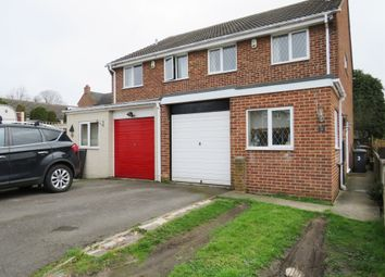 Thumbnail 3 bed semi-detached house for sale in Rambler Close, Newhall, Swadlincote