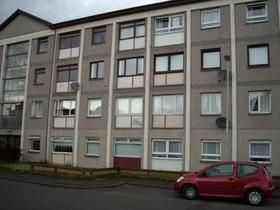 Thumbnail 1 bedroom flat to rent in Greenlaw Avenue, Wishaw