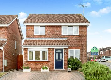 Thumbnail 3 bedroom detached house for sale in Linton Drive, Andover