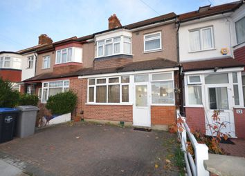 Thumbnail 3 bed terraced house for sale in Longfield Avenue, Wembley, Middlesex