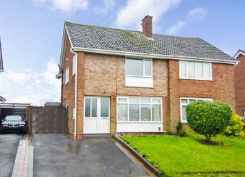 Thumbnail 3 bed semi-detached house for sale in Columbian Crescent, Chase Terrace, Burntwood