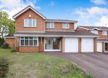 Thumbnail 4 bed detached house for sale in Farleigh Road, Perton, Wolverhampton