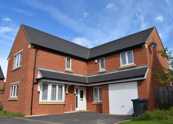 Thumbnail 4 bed detached house for sale in Bluebell Place, Lutterworth