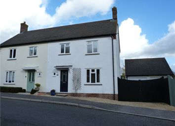 Thumbnail 3 bed semi-detached house to rent in Granville Way, Sherborne, Dorset